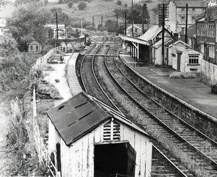 Radstock Station 1 August 1969