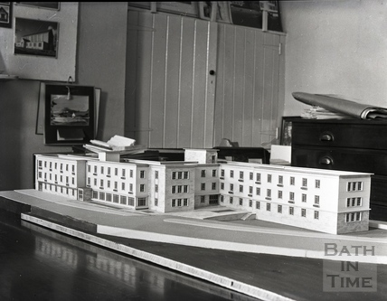 The architect's model for Green Park House Residential Home c.1963