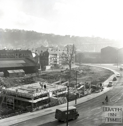Building the Green Park House Residential Home c.1963
