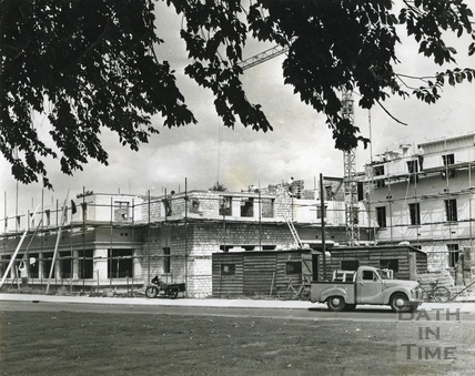 The building of the Green Park House Hostel for Elderly Persons and Centre for Handicapped Persons c.1963