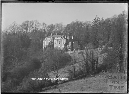 The Grove, Monkton Combe c.1904