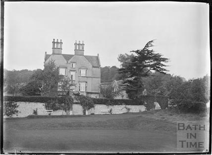 House on Summer Lane?, Monkton Combe c.1910