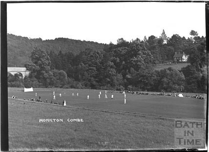 School Cricket Match, Monkton Combe c.1904