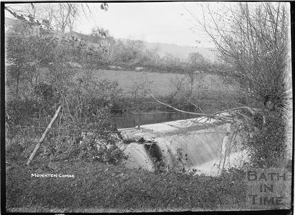 Weir, Monkton Combe c.1910