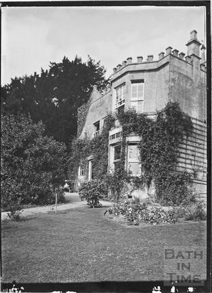 Combe Hill House, Monkton Combe c.1910