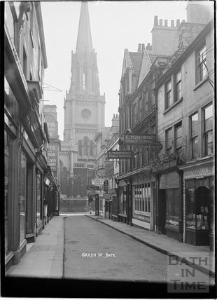 Green Street looking east c.1920