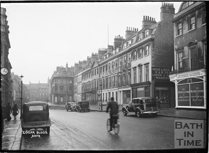 Edgar Buildings, George Street, Bath c.1920
