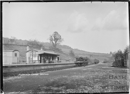 Monkton Combe station c.1910