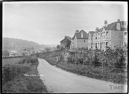 Shaft Road, Monkton Combe c.1910