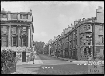 Gay Street from Queen Square c.1920