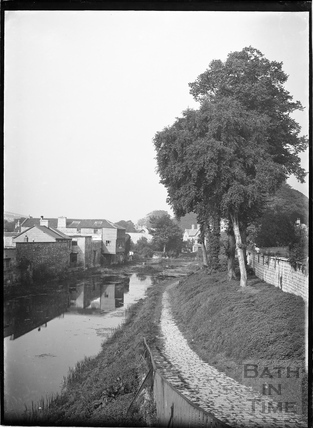 Kennet and Avon Canal from Bathwick Hill, Bath c.1930