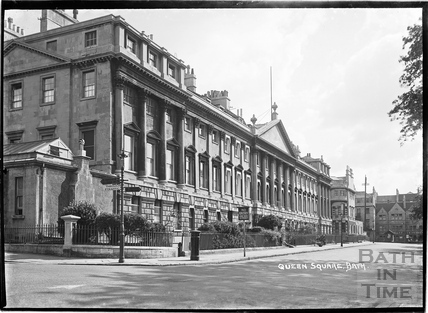 North side, Queen Square c.1920