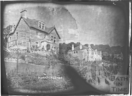 Shaft Road houses, Monkton Combe c.1910