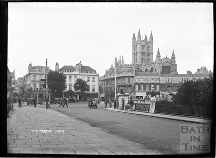 The Parade, looking towards the Abbey c.1934