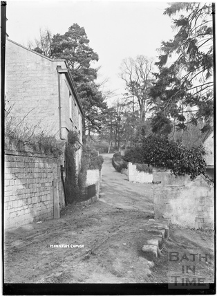 Mill Lane, Monkton Combe c.1910