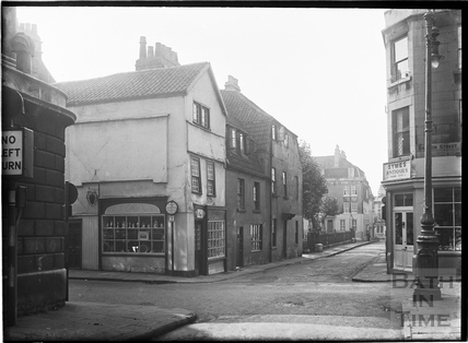 Barton Street looking towards Beauford Square c.1930s