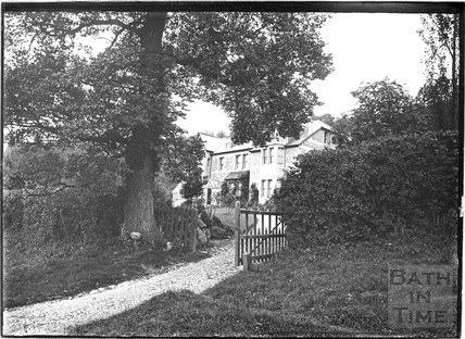 House on Summer Lane?, Monkton Combe c.1910