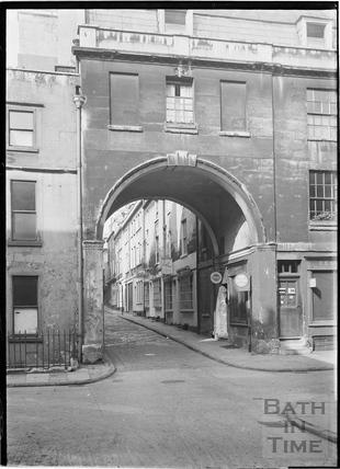 Trim Street looking north to Queen Street c.1920
