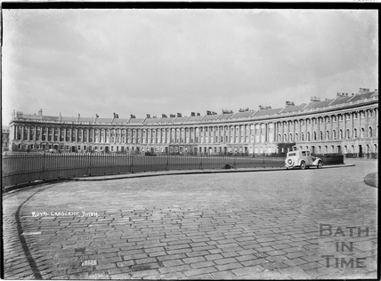 Royal Crescent view from east c.1920