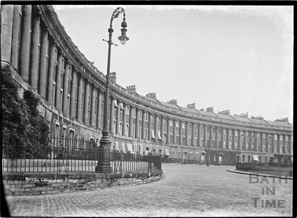 Royal Crescent view from west c.1920