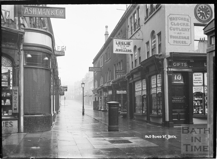Old Bond Street looking north towards Milsom Street c.1920
