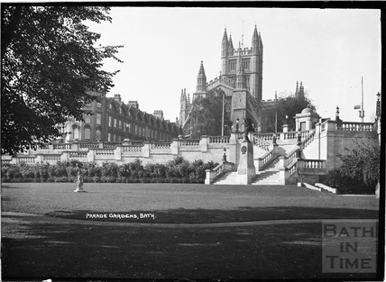 Entrance to Parade Gardens c.1938