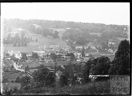 Monkton Combe view c.1938