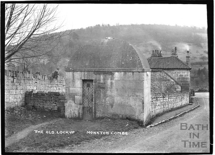 Monkton Combe, the village lockup c.1904