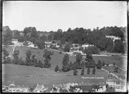 Monkton Combe view c.1910
