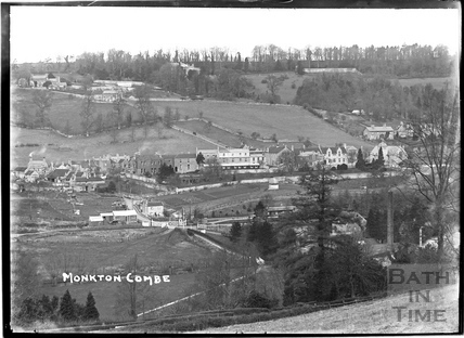 Monkton Combe view c.1910