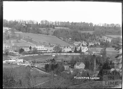 Monkton Combe view c.1930s