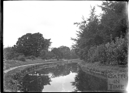 View of the Kennet and Avon Canal near Dundas c.1934