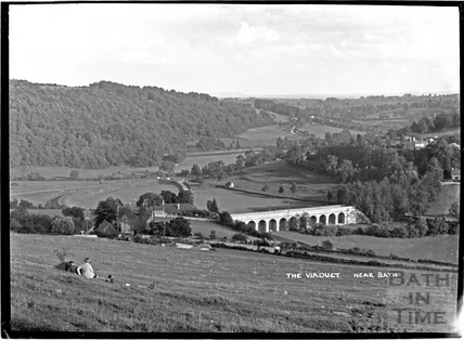 The Limpley Stoke Viaduct c.1934