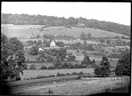 View from Winsley Hill towards Brassknocker Hill c.1934