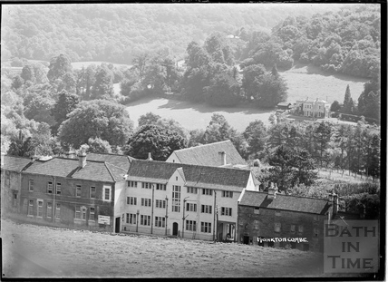 Monkton Combe, view of the school buildings c.1904