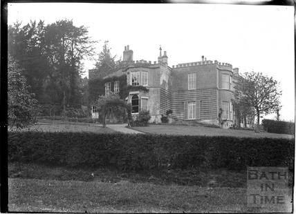 Combe Hill House, Monkton Combe c.1910s