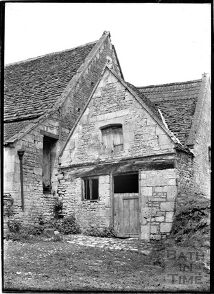 The rear of Harding's (?) Farm, Claverton Village c.1930s