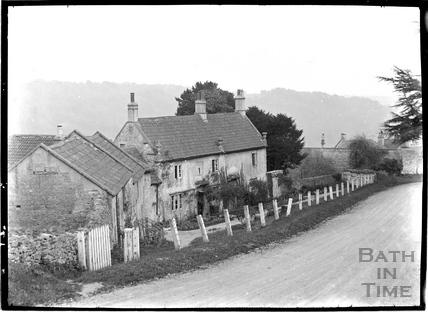 The Crown Inn, Brassknocker Hill, Monkton Combe c.1910s
