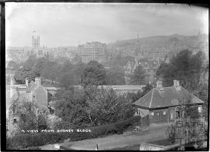 View from Sydney Buildings, Bath c.1930