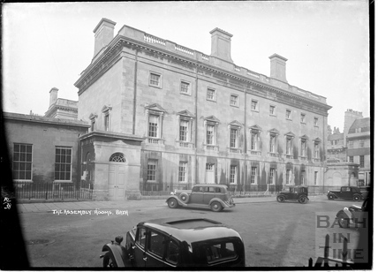Upper Assembly Rooms from Alfred Street, Oct 14 1938