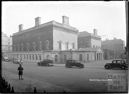 Upper Assembly Rooms from Bennett Street, Oct 14 1938