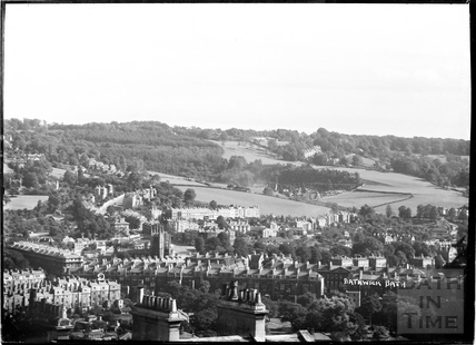View of Bathwick looking southeast c.1930s