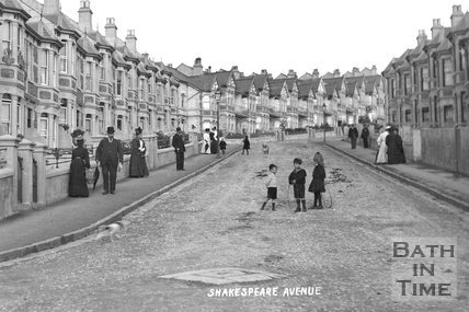 Shakespeare Avenue c.1905 - detail