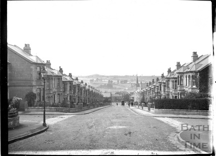 Shakespeare Avenue (?) crossed by Chaucer Road looking down c.1905