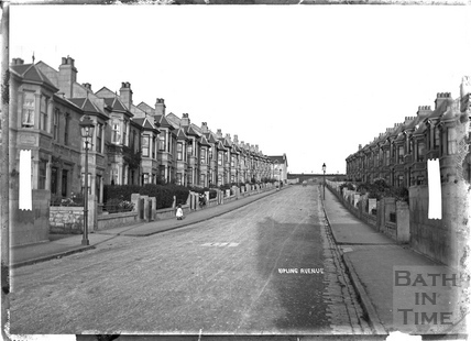 Kipling Avenue, looking up c.1908