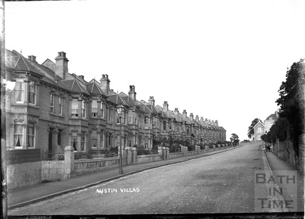 Austin Villas, opposite Devonshire Buildings, c.1905