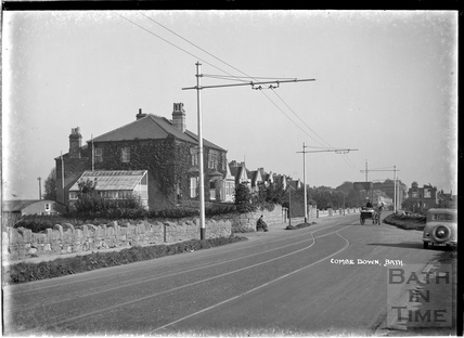 North Road, Combe Down, c.1930s
