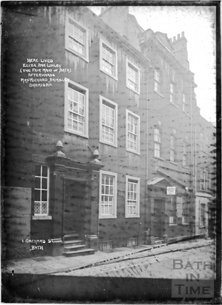Linley House, Orchard Street c.1912