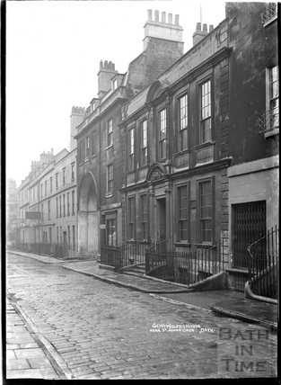 General Wolfe's House, near St John's Gate, Trim Street c.1912