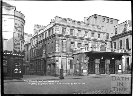 The Garricks Head and Theatre Royal, Sawclose c.1930s